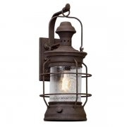 【TROY】アウトドア・インダストリアル照明 ランタンウォールライト「ATKINS」1灯(W241.3×D298.4×H558.8mm)