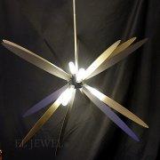 【1台在庫有!】ポストモダン デザイン照明 8灯(Φ800×H600-900mm)