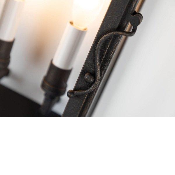 【TROY】アウトドア・ランタンウォールライト「VINTAGE」2灯(W228.6×D127.0×H508.0mm)