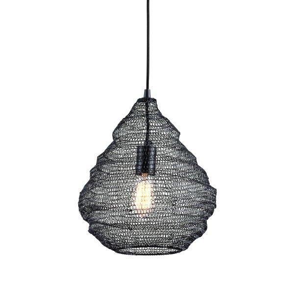 【TROY】デザイン照明 メッシュシェードペンダントライト「WABI SABI」1灯(W355.6×H355.6-3251.2mm)