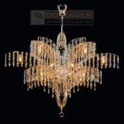 【Dotzauer】 スワロフスキー・ハンギングランプ デザイン照明18灯 (Φ900×H600mm)