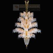 【Dotzauer】 スワロフスキー・ハンギングランプ デザイン照明56灯 (Φ1200×H2000mm)
