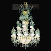 【Dotzauer】 スワロフスキー・ハンギングランプ18灯 (Φ1300×H2000mm)