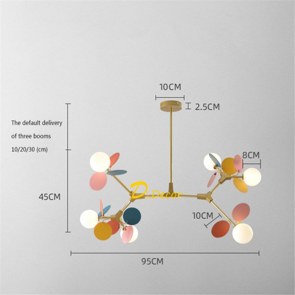 【Dr.Decor】デザイン照明 10〜15灯 (W350〜W1200mm)