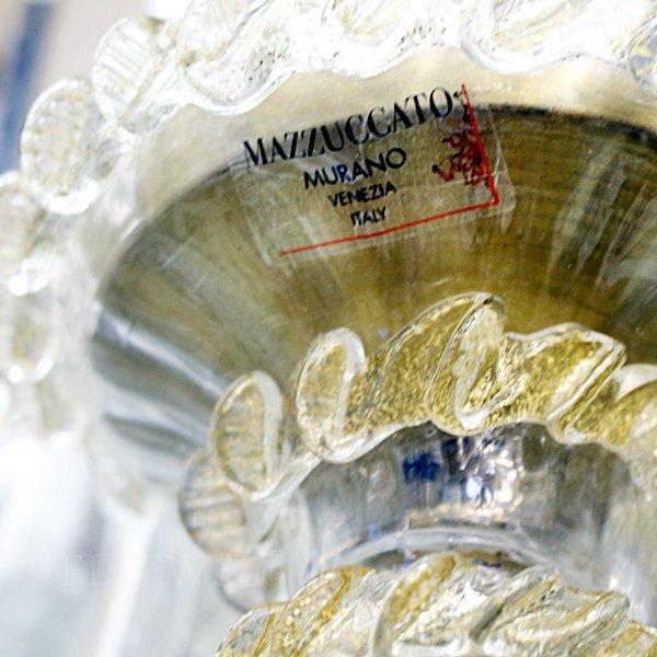 【在庫有!】【マッツカート】イタリア・MURANO製ヴェネチアンシャンデリア 6灯(φ650×H750mm)