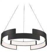 【WAC Lighting】ペンダントシーリングライト「Trap」1灯(L686×W686×H152-3683mm)