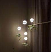 【Apextech】デザイン照明 1/2灯(Φ200×H1500〜2000mm)