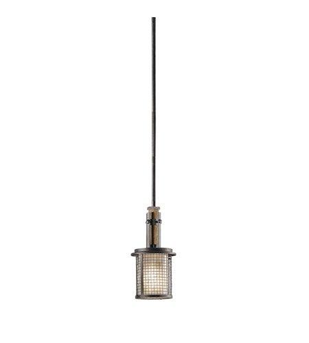 【KICHLER】米国・キチラー社 アイアンミニペンダントシーリングライト 1灯(W150×H330mm)
