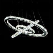 フープ型デザイン照明(Φ600+Φ450+Φ250mm)
