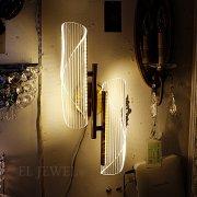 【1台在庫有!2灯のみ】【LODOOO】デザイン照明 1/2灯(W80〜200mm)