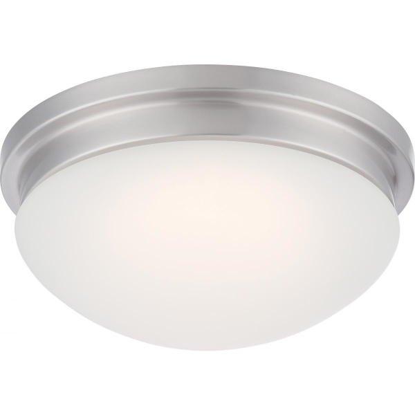【NUVO】LED シェードシーリングライト「SPECTOR」1灯(W300×H130mm)