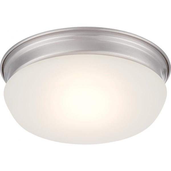 【NUVO】LED シェードシーリングライト「TREVOR」1灯(W200×H70mm)