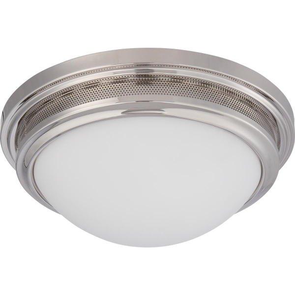 【NUVO】LED シェードシーリングライト「CORRY」1灯(W340×H130mm)
