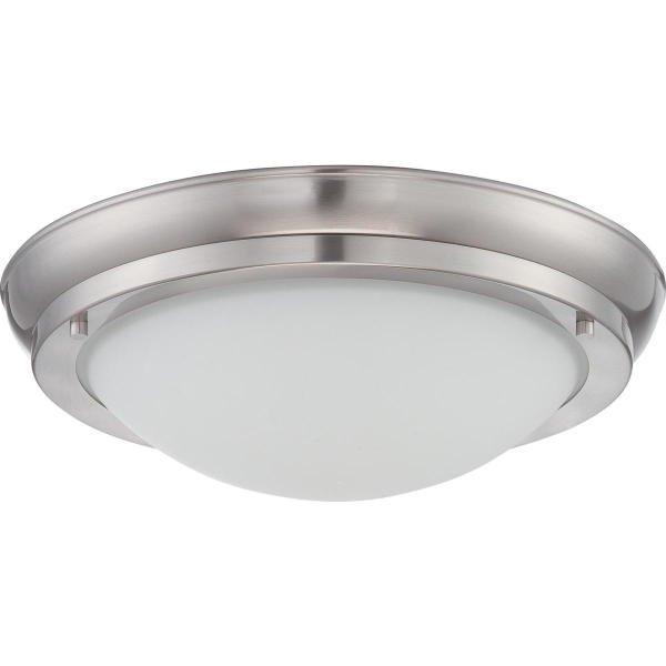 【NUVO】LED シェードシーリングライト「POKE」1灯(W240×H90mm)