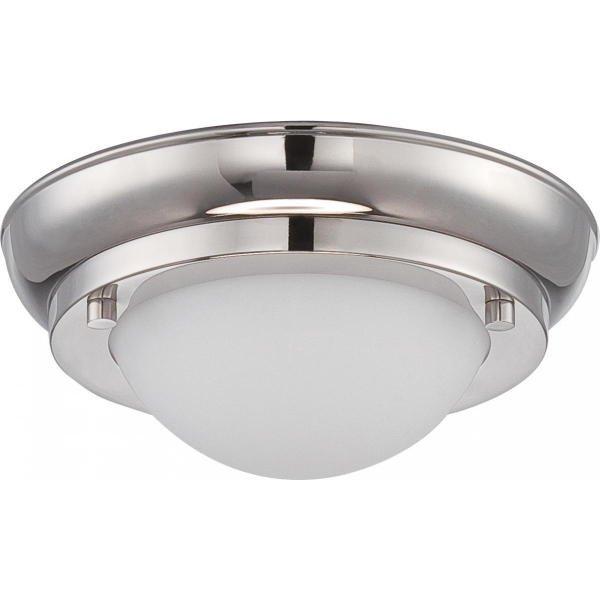 【NUVO】LED シェードシーリングライト「POKE」1灯(W170×H70mm)