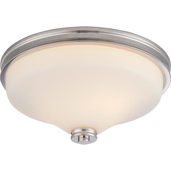 【NUVO】LED シェードシーリングライト「CODY」2灯(W330×H150mm)