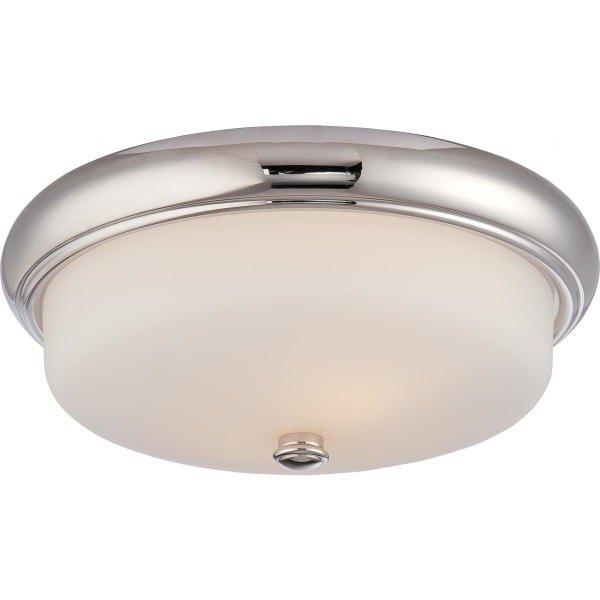 【NUVO】LED シェードシーリングライト「DYLAN」2灯(W330×H130mm)