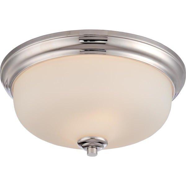 【NUVO】LED シェードシーリングライト「KIRK」2灯(W330×H150mm)