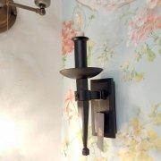 【1台在庫有!】インダストリアルスタイル・ブラケット1灯 (W100×H270mm×D150mm)