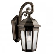 【KICHLER】米国・キチラー社 屋外用 ウォールランプ1灯「Courtyard」(H450×D280×W210mm)