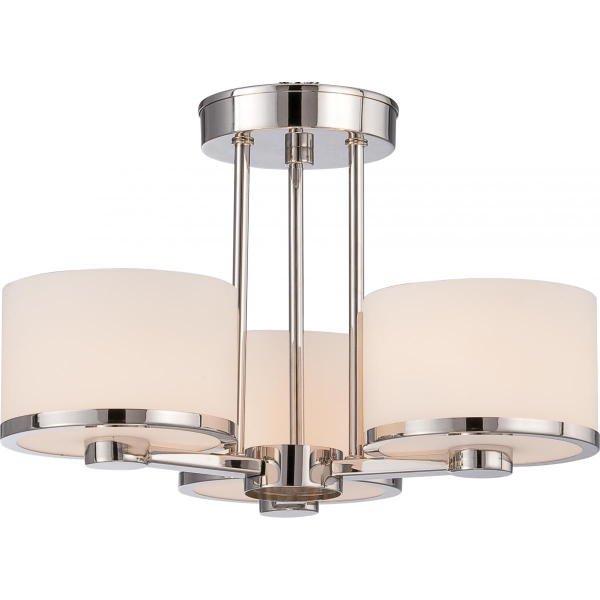 【NUVO】デザインシーリングライト「CELINE」3灯(W380×H290mm)