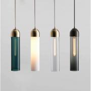 【liledit Glowing】デザイン照明 1灯(Φ100×H400mm)