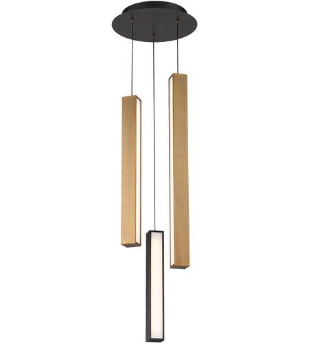 【Modern Forms】デザイン照明「Chaos」LED  ブラック・エイジドブラス(W300×D300×H840mm)