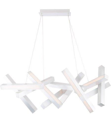 【Modern Forms】デザイン照明「Chaos」LED  つや消しアルミニウム(W540×D1220×H500mm)