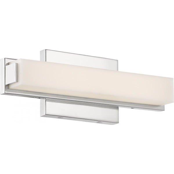 【NUVO】LED シェードウォールライト「SLICK」1灯(W330×D70×H110mm)