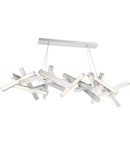 【Modern Forms】デザイン照明「Chaos」LED  つや消しアルミニウム(W1830×D480×H480mm)