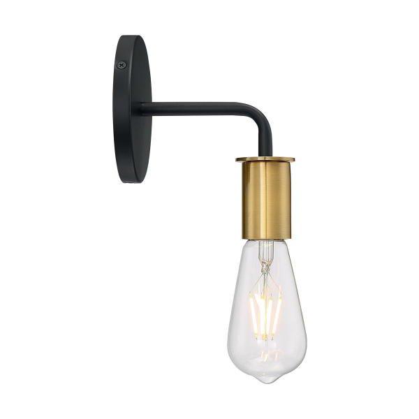 【NUVO】インダストリアル照明 デザインウォールライト「RYDER」1灯(W120×D140×H160mm)