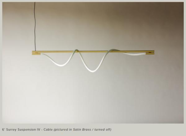 【LUKE LAMP】 Surrey Suspension IV(Cable)