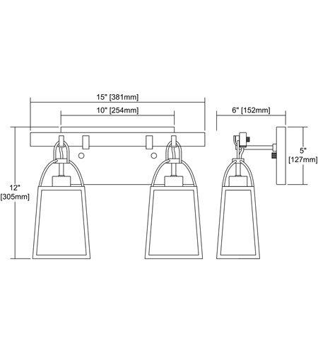 【ELK】ウォールライト「Barnside」2灯(L152×W381×H305mm)