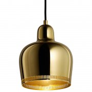 【Artek】「Aalto pendant A330S Golden Bell Savoy, brass」デザイン照明ペンダントライト ブラス(Φ170×H200mm)<img class='new_mark_img2' src='https://img.shop-pro.jp/img/new/icons1.gif' style='border:none;display:inline;margin:0px;padding:0px;width:auto;' />