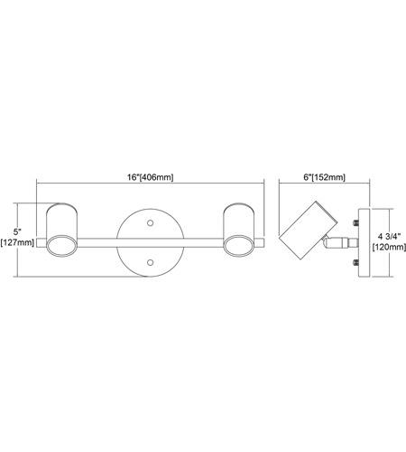 【ELK】ウォールライト「Kempton」2灯(L152×W406×H127mm)