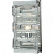 【ELK】ウォールライト「Corrugated Glass」1灯(L127×W127×H279mm)