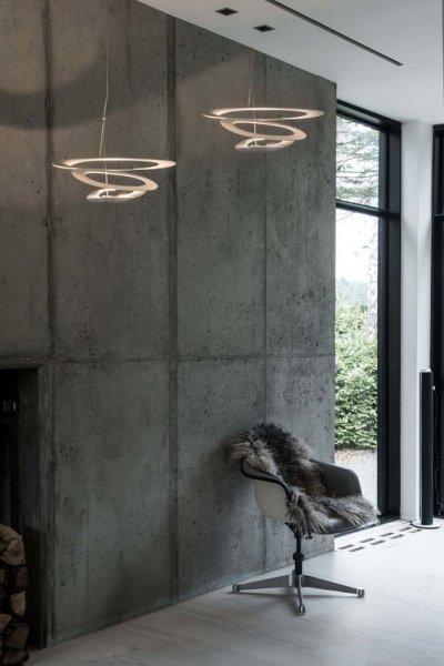 【Artemide】「Pirce Mini pendant LED」デザイン照明ペンダントライト(W690×D670×H230mm)