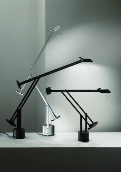 【Artemide】「Tizio Micro table lamp」デザイン照明テーブルランプ (W495-680×H230-760mm)