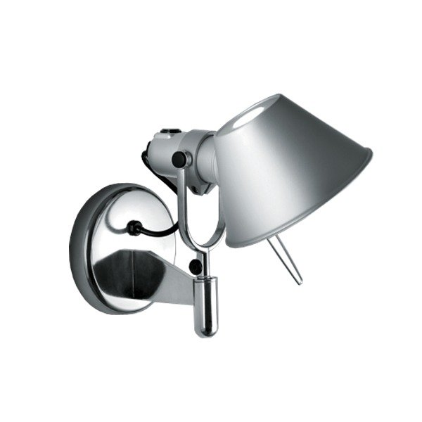 【Artemide】「Tolomeo Faretto wall lamp, aluminium」デザイン照明ウォールランプ アルミニウム(D270×H230mm)