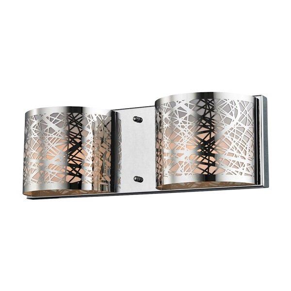 【ELK】ウォールライト「Ventor」2灯(L406×W406×H127mm)