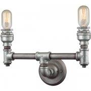 【ELK】ウォールライト「Cast Iron Pipe」2灯(L152×W381×H254mm)