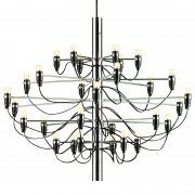 【Flos】「2097/30 chandelier, chrome」デザイン照明ペンダントライトLED30灯 クローム(Φ880×720mm)<img class='new_mark_img2' src='https://img.shop-pro.jp/img/new/icons1.gif' style='border:none;display:inline;margin:0px;padding:0px;width:auto;' />