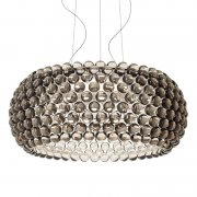 【Foscarini】「Caboche Plus pendant, large, dimmable, grey」デザイン照明ペンダントライト ラージ グレー(Φ700×H280mm)<img class='new_mark_img2' src='https://img.shop-pro.jp/img/new/icons1.gif' style='border:none;display:inline;margin:0px;padding:0px;width:auto;' />