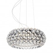 【Foscarini】「Caboche Plus pendant, medium, dimmable, clear」デザイン照明ペンダントライト ミディアム クリア(Φ500×H200mm)<img class='new_mark_img2' src='https://img.shop-pro.jp/img/new/icons1.gif' style='border:none;display:inline;margin:0px;padding:0px;width:auto;' />