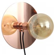 【Frama】「E27 wall lamp, medium, copper」デザイン照明ウォールランプ カッパー(Φ250×D70mm)<img class='new_mark_img2' src='https://img.shop-pro.jp/img/new/icons1.gif' style='border:none;display:inline;margin:0px;padding:0px;width:auto;' />