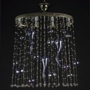 【WRANOVSKY】デザインシーリングシャンデリア「Genesis」4灯(W500×D200×H500mm)