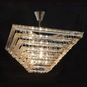 【WRANOVSKY】デザインシャンデリア「Livelli」 4灯(W500×H250mm)