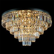 【WRANOVSKY】クリスタルシーリングシャンデリア「Porto」 12灯 (φ600×H430mm)