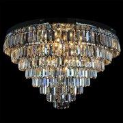【WRANOVSKY】クリスタルシーリングシャンデリア「Porto」 12灯 (φ800×H450mm)