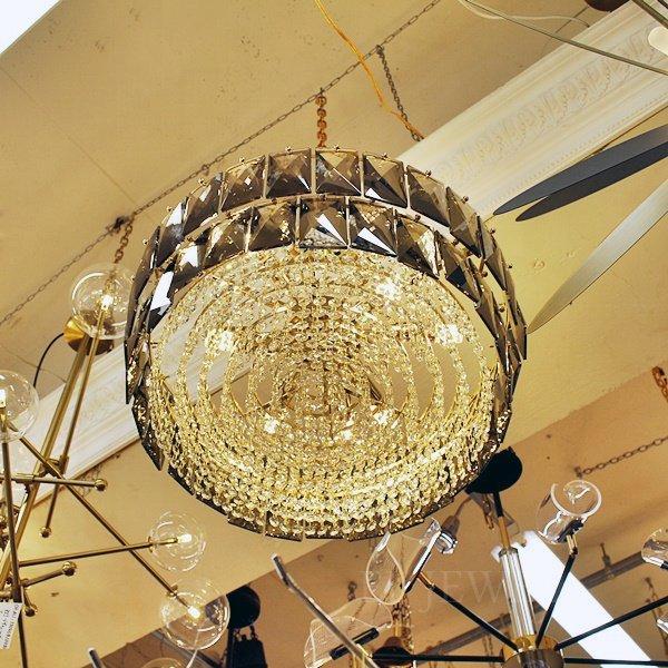 【1台在庫有!Φ600mmのみ】【E-Light】デザイン照明クリスタルシャンデリア 9/12灯
